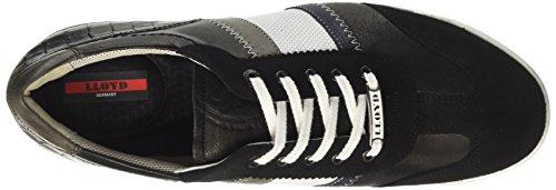 LLOYD Aaron, Sneaker Uomo Schwarz (Schwarz/Midnight/Bianco/graphit/schwarz)
