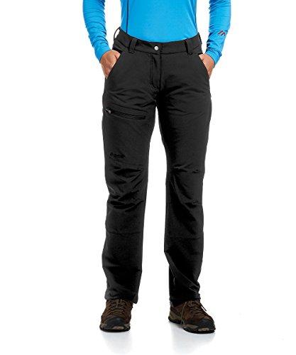 Michaelax-Fashion-Trade Maier Sports- Damen Funktions Trekking oder Outdoor Hose in Black Artikel Helga (236005), Größe:40, Farbe:Schwarz (900)
