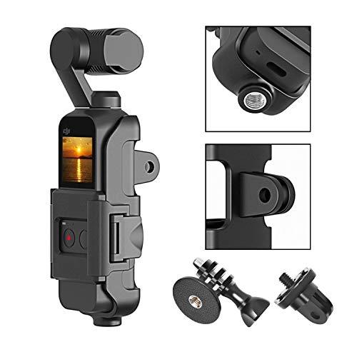 t DJI Osmo Pocket Tripod Mount Stativanschluss, Verbinden Sie Sich schnell mit GoPro-Zubehör, Stativhalterung, LED-Licht, Mikrofon und mehr ()