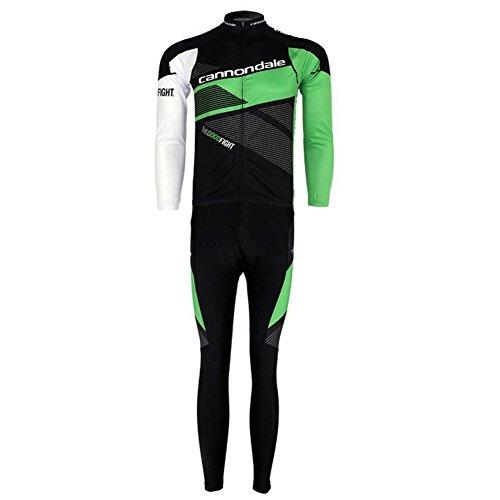 Strgao 2016 Herren Radtrikots Radjacke Langarm Radhose Fahrradhose Pro Rennen Team Cannondale MTB Radbekleidung Radfahren Anzug cycling jersey pants set suit