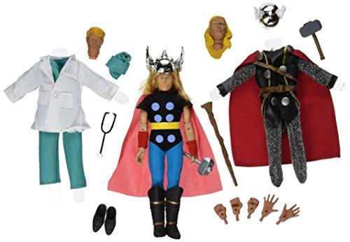 Marvel Comics Thor Retro Action Figur Set (Mehrfarbig)