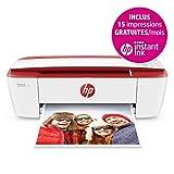 HP Deskjet 3733 Imprimante Multifonction Jet d'encre Couleur (8 ppm, 4800 x 1200 PPP, Mode Silencieux, WiFi, Impression Mobile, USB)