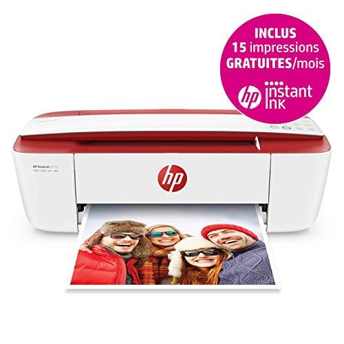 HP Deskjet 3733 Imprimante Multifonction Jet d'encre Couleur (8 ppm, 4800 x 1200 PPP, Mode...