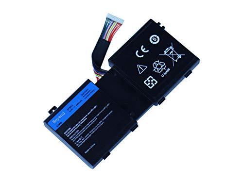 BEYOND Laptop Akku für Dell 2F8K3, Dell Alienware 17 A17, 17 R1, Alienware 18 A18 M17X R5 M18X R3 Series, Dell 2F8K3 02F8K3 KJ2PX 0KJ2PX G33TT 0G33TT. [14.8V 4400mAh, 12 Monate Herstellergarantie] Alienware M17x Laptop