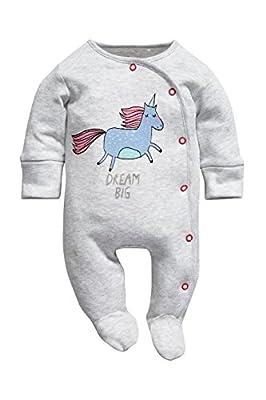 next Bebé Niña Pack De Tres Pijamas Estampado Unicornios (0 Meses-2 Años) Estándar