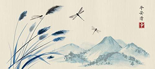 AG Design Japan, Vlies Fototapete für Wohnzimmer, Flur, Schlafzimmer, Küche, Gartenhaus, 202 x 90 cm.