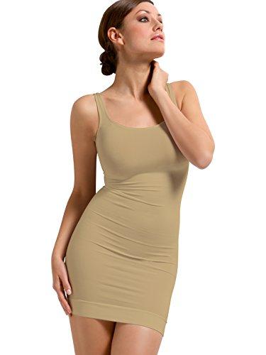 SENSI' Sottoveste Modellante Donna Spalla Larga Comfort Senza Cuciture Traspirante Seamless Made in Italy