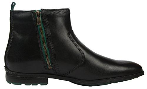 Clarks Gleeson Zip, Boots homme Noir (Black Leather)