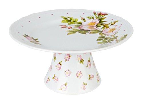 Muebles, Cocina-Estantes para tartas, postres, frutas-Modelo: floral-Diseñador: M. Bastin-Estilo: Clásico-Material: Porcelana-Color: Mezcla-10cm, Ø 20cm