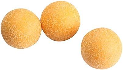 AST Works 3pcs 36mm Yellow Matte Soccer Table Football Foosball Balls Fussball Ball