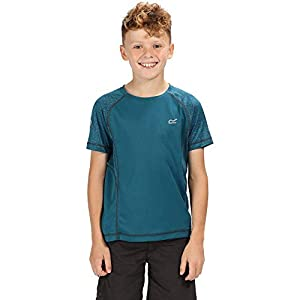 Regatta Kinder Dazzler Ii Quick Drying Reflective Active T-Shirt