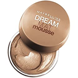 Maybelline New York Base de maquillaje Dream Mat Mousse, 40 Beige Dorado