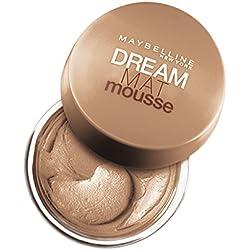 Maybelline New York Base de maquillaje Dream Mat Mousse, 40 Beige Dorado