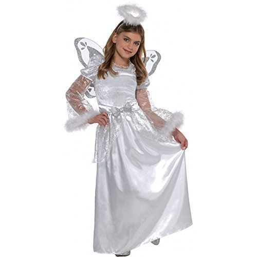 Christy's Girls Angel Fancy Dress Costume (6-8 years) by Amscan (Kostüme Girl Angel)