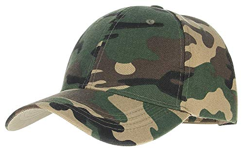 Herren Damen Baseball Kappe Fashion Vintage Herbst Frühling Cap Tarnfarbe Jungen Baseball Cap Outdoor Mützen Hut Caps (Color : ArmyGreen, Size : One Size)