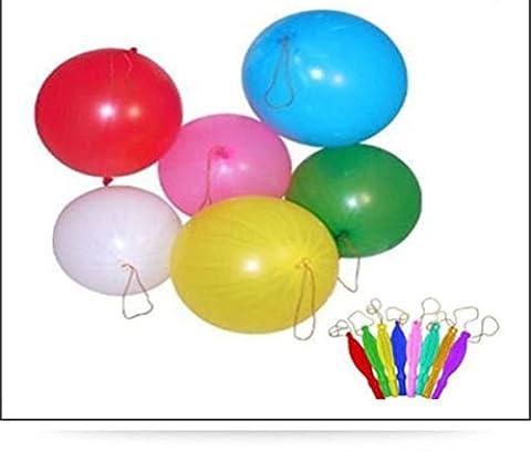 Punch Ballons Idéal pour les cadeaux de fête Couleurs assorties garçons filles, 1 couleur, 20 Punch Balloons