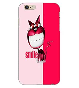 PrintDhaba Sweet Girl D-5049 Back Case Cover for APPLE IPHONE 6S (Multi-Coloured)