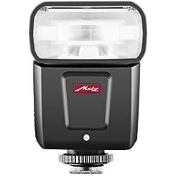 METZ M360-Flash pour Canon (ISO 100et 105mm, Zoom motorisé de 24à 105mm, diffuseur Grand Angle de 14mm) Noir