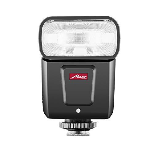 Metz M360 Blitzgerät für Canon ISO 100 und 105 mm, 24-105 mm Zoom, 14mm Weitwinkeldiffusor, schwarz
