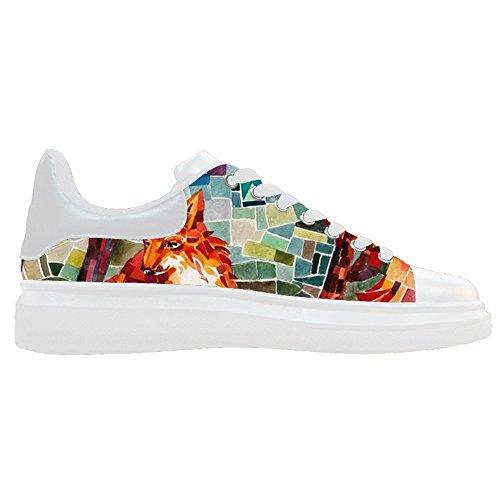 Dalliy Fox Women's canvas Footwear Sneakers Shoes Chaussures de toile Baskets B
