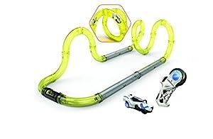 Silverlit-Speed Training Set 18Tubos Circuito modulables + 1Coche, 20231, Amarillo