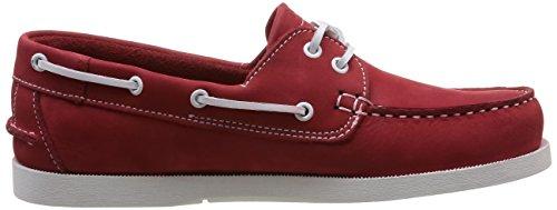 TBS Phenis, Chaussures bateau homme Rouge (Pavot)