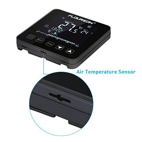 Floureon Digital Raumthermostat Thermostat elektrische ...