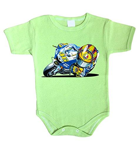 Unbekannt - Camisilla - para bebé niño verde 74 cm (6-12 Meses)