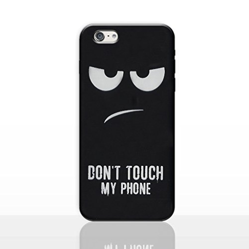 IPhone 6/6s Don't Touch My Phone Estuche Silicona