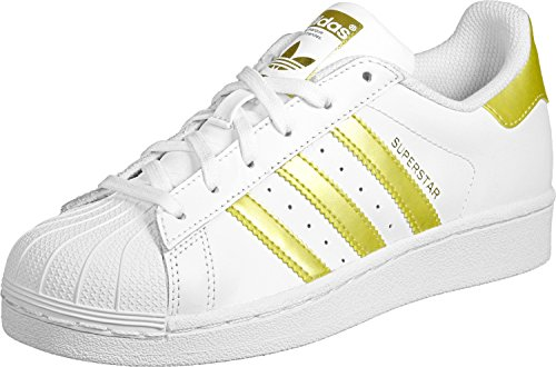 adidas Superstar Foundation J W Scarpa white/gold