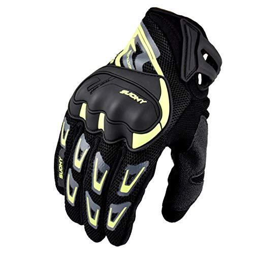 Guanti Moto Estivi Motocross Off Road Glove Full Finger Touch Screen Guanti Moto Ciclismo Racing per Mountain Bike e Regalo Divertent