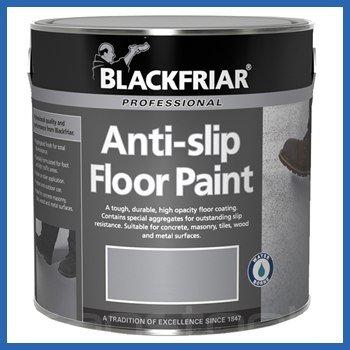 Blackfriar Anti Slip Floor Paint Mid Grey Indoor or Outdoor
