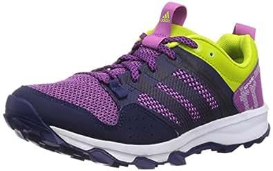 adidas Performance Kanadia 7 Trail, Damen Traillaufschuhe, Mehrfarbig (Lucky Pink S15/Ftwr White/Semi Solar Yellow), 38 EU (5 Damen UK)