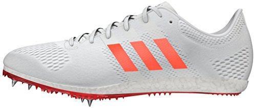 adidas Adizero Avanti, Chaussures de Running Entrainement Mixte Adulte Blanc (Ftw White/solar Red/silver Metallic)