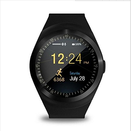 ESTAR Bluetooth Smartwatch with SIM Card Support | Android 5.1 OS | Facebook | Whatsapp | Activity Tracker | Fitness Band | Music | Micro SD card Support COMPATIBLE with Samsung Galaxy S Duos (GT-S7562)  available at amazon for Rs.1999