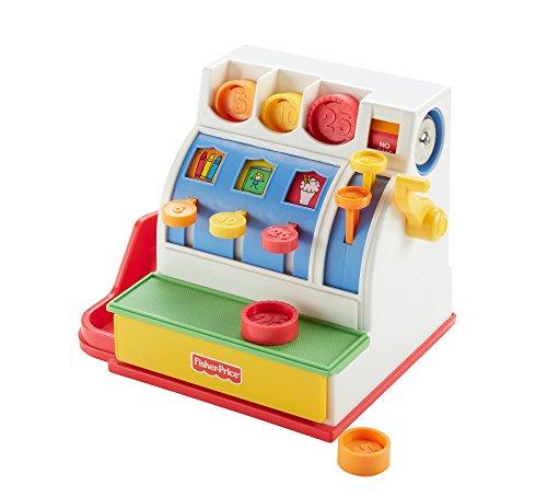 25 99 fisherprice caisse enregistreuse jouet dimitation pour enfant avec 9 pices incluses 2. Black Bedroom Furniture Sets. Home Design Ideas