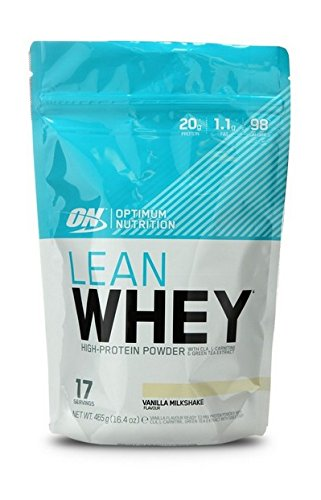 Lean Shake (Optimum Nutrition Lean Whey Vanilla, 1er Pack (1 x 465 g))