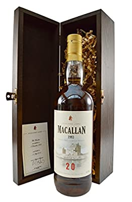 Macallan 1993 Aged 21 Years Scotch Whisky