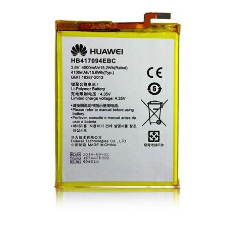 BATTERIA ORIGINALE HUAWEI HB417094EBC per ASCEND MATE 7 - 4100 mAh LI-ION BULK