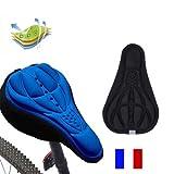 SIMPLISIM: Housse DE Selle VÉLO Confortable Confort 3D VTT Doux Protection Gel...
