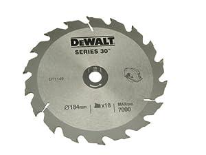 DeWalt DT1156QZ 235 x 30 x 24-Tooth Circular Saw Blade Series 30