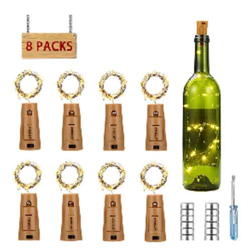 Luz botella, luz bricolaje, luz ambiente, lámpara