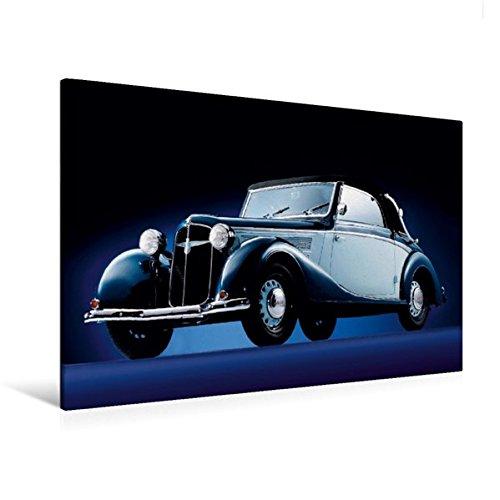 Junior Adler (Calvendo Premium Textil-Leinwand 120 cm x 80 cm quer, Adler Trumpf Junior - Bj. 1938 | Wandbild, Bild auf Keilrahmen, Fertigbild auf echter Leinwand, Leinwanddruck Technologie Technologie)