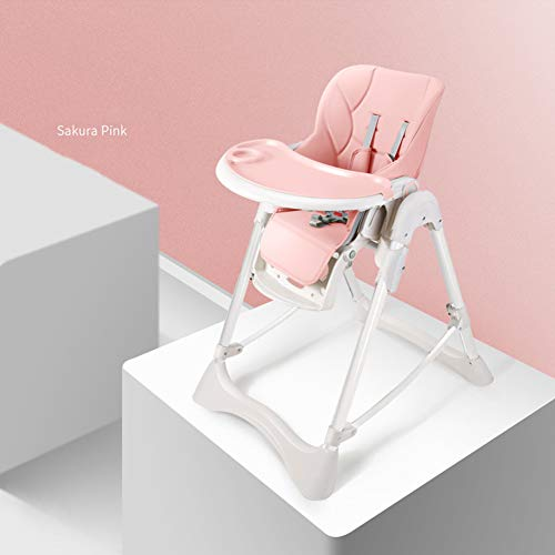 DXFK.AM Kindersafety Kinderhochstuhl Tischsitze Babyhochstuhl Babystuhl Kinderstuhl - Hochstuhl Baby Höhenverstellbar mit abnehmbarem Essbrett,G