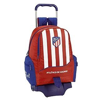 413%2Bm48iC1L. SS324  - Atlético de Madrid Mochila Grande Ruedas, Carro, Trolley