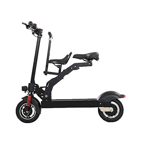 Y&WY Scooter Eléctrico,Adulto Mini Plegable Coche Eléctrico Bicicleta 3 Modos De Conducción con...