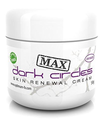 Dark Circles MAX Skin Renewal Cream DOPPIA AZIONE Tratta Sotto le Occhiaie Scure in Meno di 60 Secondi al Giorno SENZA Parabeni 50ml