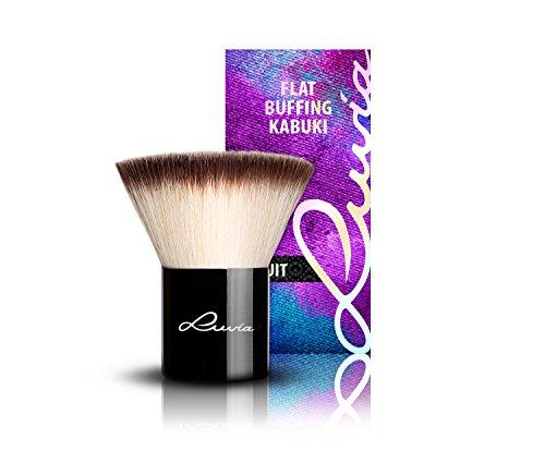 Luvia Cosmetics – La Nuit – V - Flat Buffing Kabuki – Make Up Kosmetikpinsel Kabuki in Edlem...