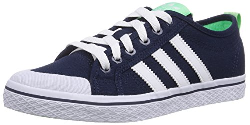 adidas Originals Honey Low Damen Sneakers Blau (Collegiate Navy/Ftwr White/Light Flash Green S15)