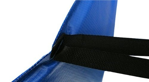 Premium Federabdeckung 305 cm für Trampolin Randabdeckung PVC – UV beständig - 5